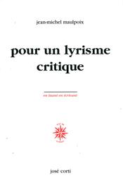 """Résultat de recherche d'images pour """"maulpoix critique de la poésie"""""""